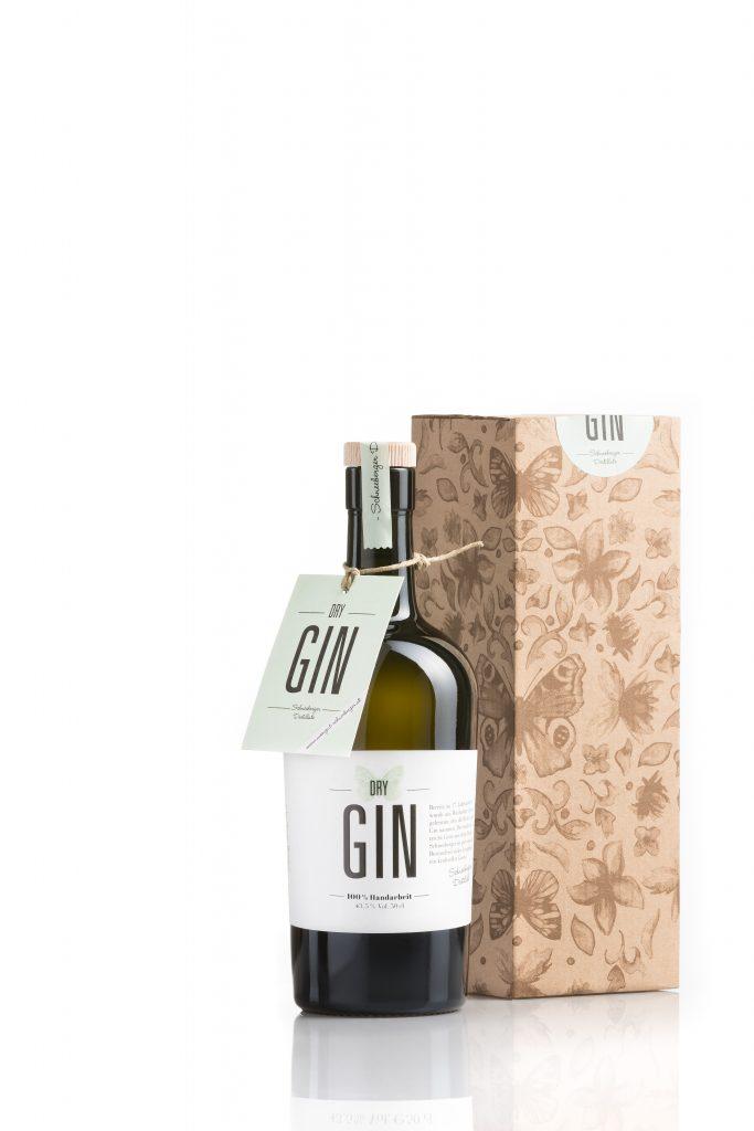 Dry Gin neu mit Karton