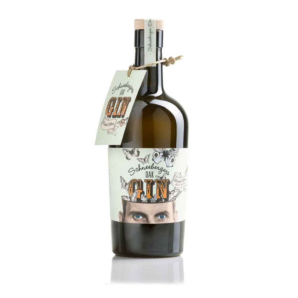 OAK-gin-Produktfoto